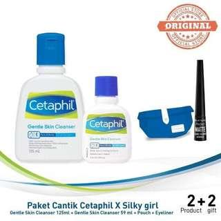 (NEW) Cetaphil x Silky Girl Set