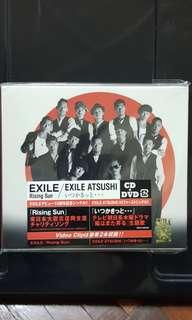 EXILE Rising Sun CD + DVD