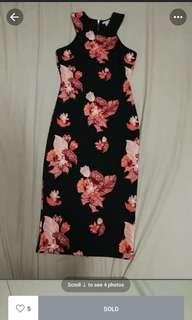 H$m flowers gown