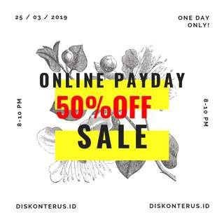 """#paydaymaret Join Carousell """" Online Payday Sale """""""