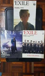EXILE Japan Magazine Oct/Nov 2011 Feb 2012