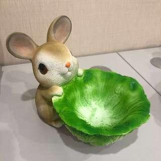 可愛兔仔擺設