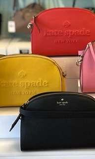 229 LIMITED STOCKS ONLY! Kate Spade Embossed Logo Sling Bag ☆AUTHENTIC☆