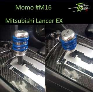 Momo #16 available for Lancer EX Gear Knob.