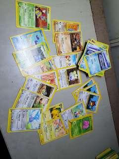 🚚 Pokemon Cards randomly each 0.50$