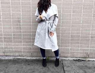M BOUTIQUE Grey Wrap Coat