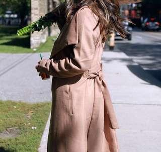 M BOUTIQUE Camel Wrap Coat