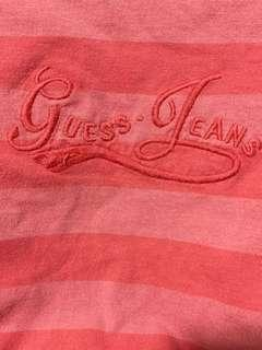 🚚 authentic vintage guess jeans striped top