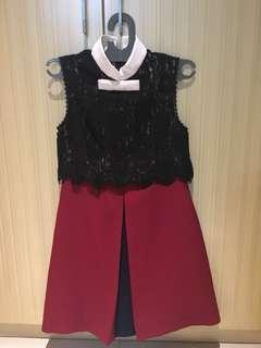 Dress shanghai 2 warna