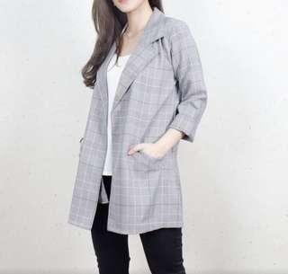 Grey Blazer Zara look a like