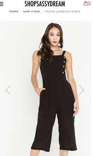 LOOKING FOR> SSD Reyna Jumpsuit in Black (XS)