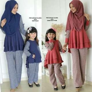 🚚 Pant Suit Ibu & Anak ( PO )