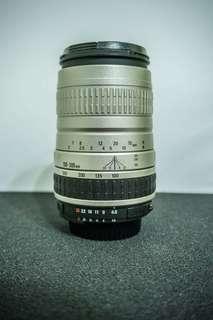 SIGMA AF 100-300mm F4.5-6.7 DL to Nikon 長焦 鏡頭 單眼