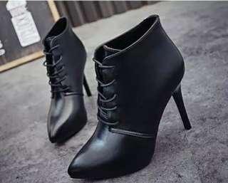 High Heels Martin Boots
