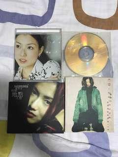鄭秀文 CD DISK 4 隻