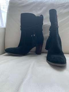 Tommy Hillfiger / Suede boots | size 8