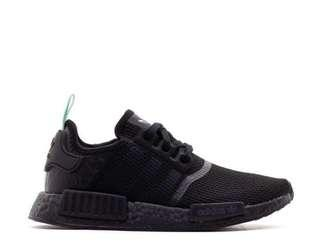 Adidas NMD Black Mint (size 8.5 women's)