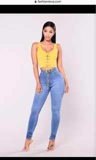 Fashion Nova Precious Jeans
