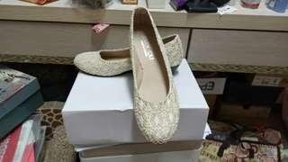 🚚 (全新)39號!米色淑女鞋