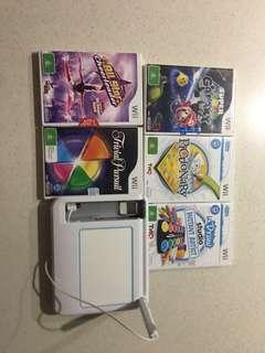 U Draw and Wii Games