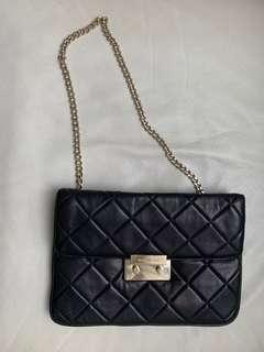 Clutch Michael Kors black leather