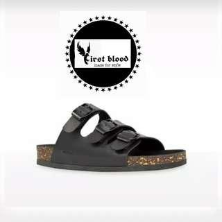Bruno full black sandal ubisex