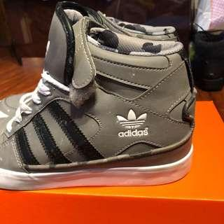ADIDAS WEDGE RUNNING SHOES SIZE 8