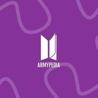 [PO] ARMYPEDIA Official MD #BTS