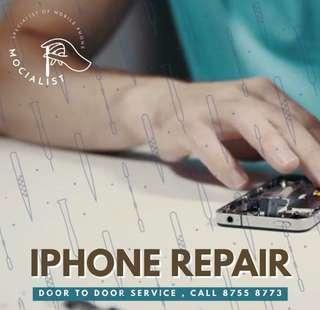IPHONE REPAIR! FREE DOORSTEP SERVICE! CALL 8755 8773