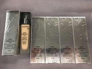 Lancome Foundation MAT MIRACLE 24 Hour