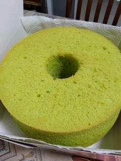 🚚 Pandan Chiffon cake