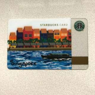 First Singapore Starbucks Card (Limited Edition)