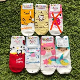 <NEW design instocks> Sanrio Korean ankle socks