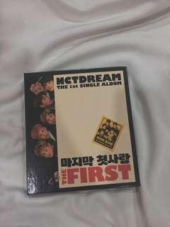 """NCT DREAM """"My first and Last"""" ALBUM"""