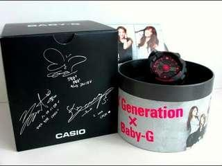 Girls Generation Baby G original watch