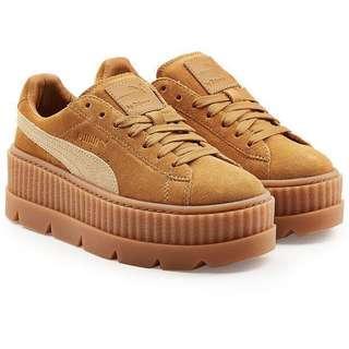 Fenty x Puma platform suede shoes