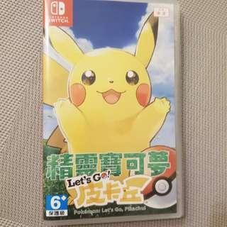 Pokemon let's go ~ Switch 中文版 行貨