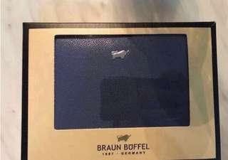 Braun Buffel Bi-fold Wallet