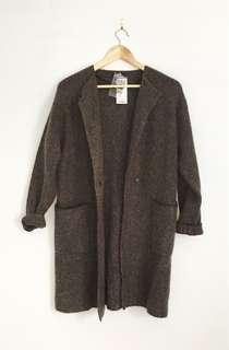 UNIQLO new with tags long knit cardigan XS