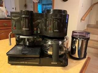 Bosch兩用自動咖啡機及磨豆機