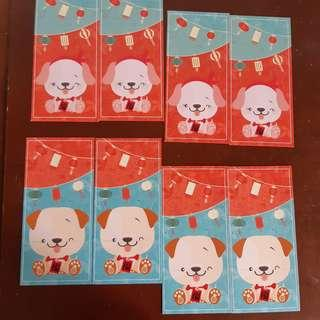 Kawaii Puppies Red Packets
