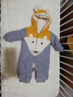 Baby Sweater Romper