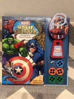 🚚 Avengers Marvel movie theatre book
