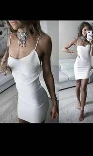 Knit low back dress