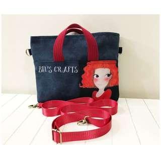 🚚 Handmade 2 way bag