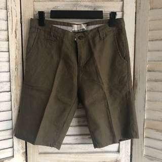 Pants 韓國製麻短褲