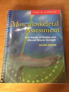 Musculoskeletal Assessment Joint Range of Motion and Manual Muscle Strength, 2nd edition (Hazel M Clarkson)