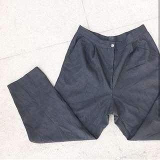 Dark gray Highwaist Trouser  Size 29- 30