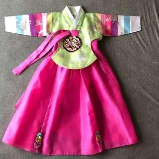 Korean Traditional Dress for girls 女童韓服套裝