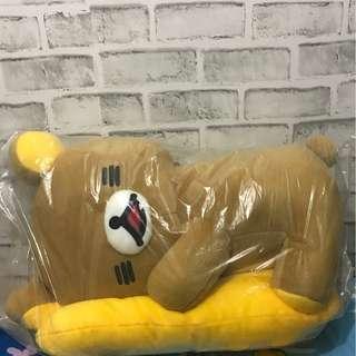 正版日本景品含吊牌 拉拉熊 懶懶熊 Rilakkuma 娃娃 公仔 玩偶 52cm